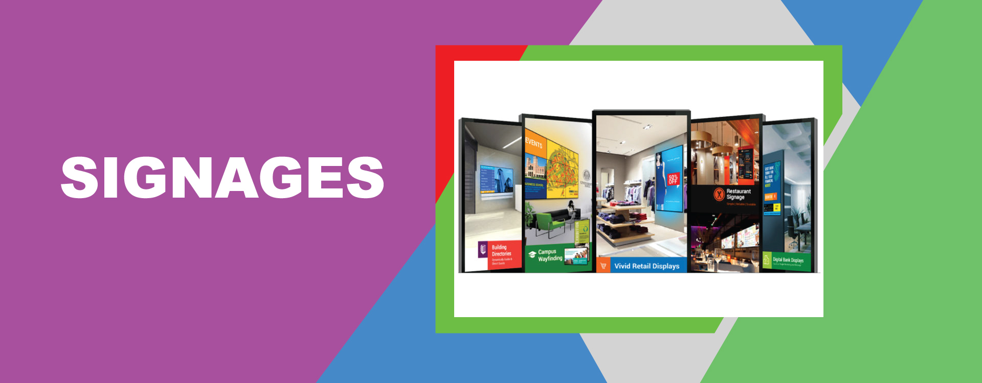 Signages/Indoor & Outdoor Branding - Best Printing Services Lahore